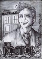 The Tenth Doctor by FuriarossaAndMimma