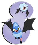 PKMNation: Star Bat by little-fragments