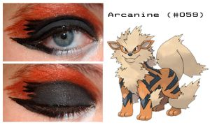 Pokemakeup 059 Arcanine by nazzara