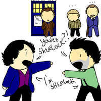What if Sherlock met Holmes? by ExtremlySelfishChild