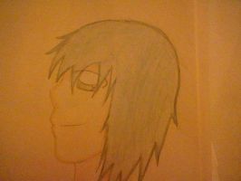 old drawing possibly kaito by Beyondxstrawberryjam