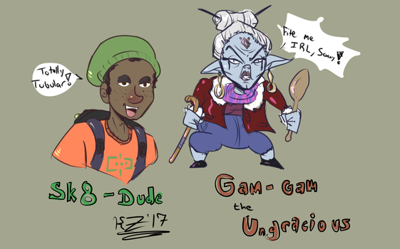 Quick Character Doodles by Z-Man-Ga