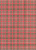 cute red plaid paper by TonomuraBix