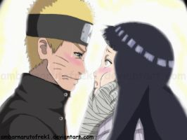 Naruto is in trouble,How do you kiss ?! by ambarnarutofrek1