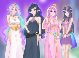 Princesses by JonFawkes