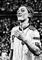 Magical Mesut Ozil by Fantaasiatoidab