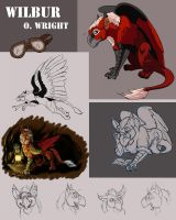 Wilbur character sheet w text by SilverFlight