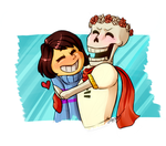 Happy Skelly 2.0 by LogicalLoony