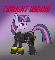 My Little Avengers: Twilight Widow by Kenichi-Shinigami