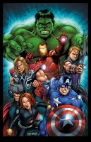 More Assembled Avengers by RossHughes