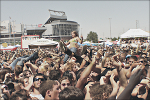 Warped Tour Crowd by chase009