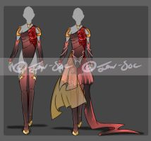Clothing Double Set Adopt [CLOSED] by JxW-SpiralofChaos