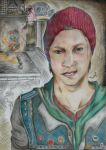 Infamous - SecondSon - Delsin Rowe by Misa-chan13