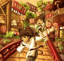 Spirited Away by lamAble