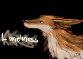 Loneliness by lonelycard