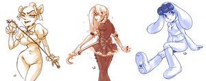 5 dollar commissions by Laur-