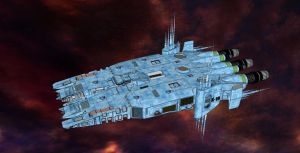Sentry Class System Security Boat by Andywerk