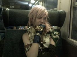 Lightning Cosplay - Train- by LightningTheArtist