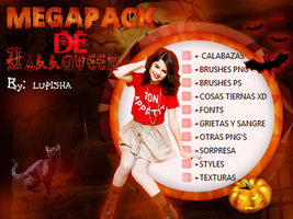 +MEGAPACK DE HALLOWEEN by LupishaGreyDesigns