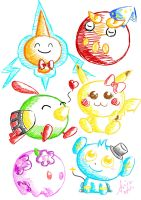 just some cute looking pokemon by dsam4