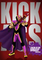 Liger Kick Ass poster by BloodySamoan