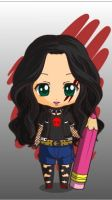 Me (Made with Chibi Maker) 2. by MrsCromwell