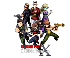Resident Evil CODE: Veronica by juniorbunny