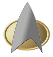 Star Trek Comm Badge (TNG) Logo by SUPERMAN3D