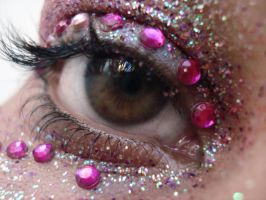 glitter eye III by ftourini-stock