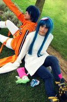 Air Gear - Agito and Ume by SweetCandyCupkake