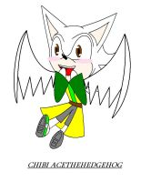 Chibi ace the hedgehog by camilleartist132