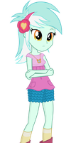 Lyra Heartstrings Equesrtia girls by negasun