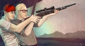 Fallout NV - Sniping Lessons by lilibombe