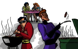 BATB: Family BBQ by g0N3Morganna