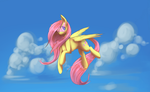 Fluttershy by Checkmate by GSHgunner