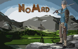 NoMad Title Screen by Darious07