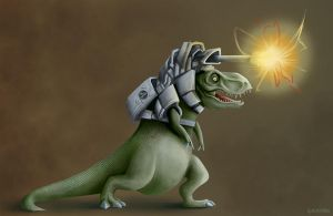 Lasersaurus V2 by Epifex