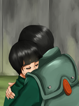 Rock Lee and Gai by merue