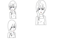 My Lineart Of Namine by anthirules