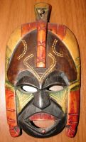 African Tribal Ritual Mask by FantasyStock