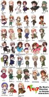 my mom's reactions to hetalia characters~ by starearthgirl