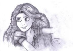 Rapunzel Tangled by L0oKyNumBaS11