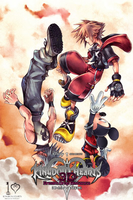 Kingdom Hearts 3D iPhone bg 1 by gameover89