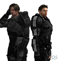 XPS Mass Effect Leon and Chris (DLC) by TheLegend831
