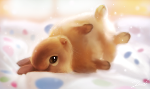 Snuggle bunny by Sverre93
