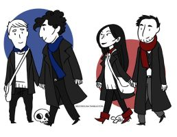 Sherlockelementary by secondlina