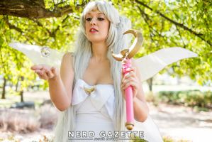 Queen Serenity: Summoning the Crystal by Oreparma