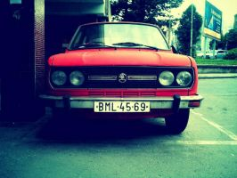 Old Skoda by apple-boom
