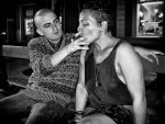 Sharing a smoke by PatrickMonnier
