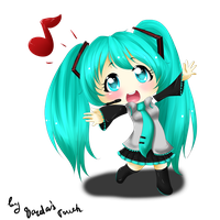 Miku-chan ver.2 by VardasTouch